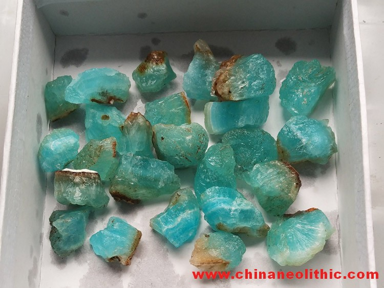 The sky blue ice hemimorphite auspicious clouds totem carved pieces carving Pendant Pendant,Hemimorphite