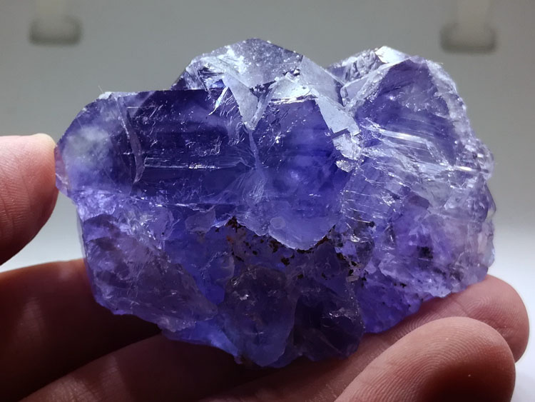 Blue purple Fluorite mineral crystals of the gem stone ore,Fluorite,Quartz,Pyrites