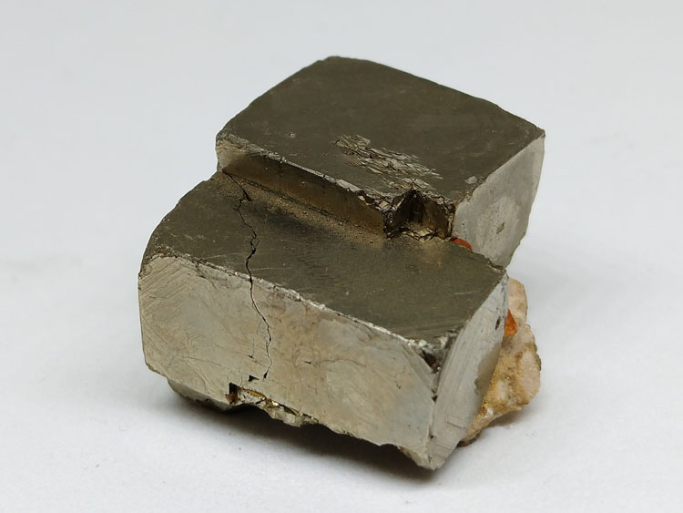 Manganese-aluminum garnet spessartine and Pyrite Specimens of Symbiotic Minerals,Garnet,Pyrites